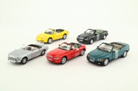 Cararama; Convertible Cars, 5 Pce Set; Assorted Soft Tops