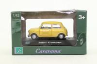 Cararama 00141; BL/Rover Mini Cooper; Yellow