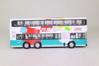 Corgi OOC 43207; Leyland/Volvo Olympian 3 Axle Bus; Kowloon Motor Bus; 102 Shau Kei Wan