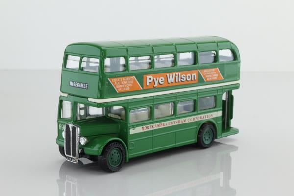 Corgi D599/6; AEC RT Double Deck Bus (1:64); Morecambe & Heysham Corporation; Rt Morecambe