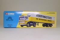Corgi 21301; AEC Ergomatic Cab; Artic Box Trailer, Ferrymasters International Hauliers