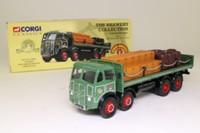 Corgi Classics 09801; ERF V; 8 Wheel Rigid Flatbed with Chains; John Smiths Brewery; Crates & Barrels Load