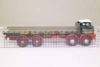 Corgi CC10805; Foden S21 Mickey Mouse; 8 Wheel Rigid Flatbed, Eddie Stobart