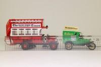 Corgi R2499; Transport of the 30s Set; Thornycroft Bus & Model T Van