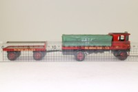 Corgi 80007; Sentinel Steam Wagon; Flatbed & Trailer, United Africa, Liverpool; Sheeted Load