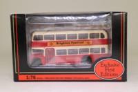EFE 14001; Bristol FLF Lodekka Bus; Brighton Hove & District; Rt 26 Mile Oak