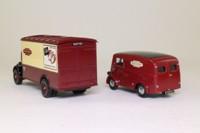 Corgi D46/1; British Railways 2 Van Set; Bedford O Van & Morris J Van