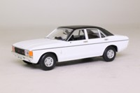 Vanguards VA05205; Ford Granada MkI; Diamond White, Black Roof