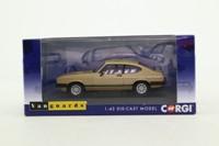 Vanguards VA10814B; Ford Capri Mk III; 3.0 Ghia; Oyster Gold (LHD Germany)