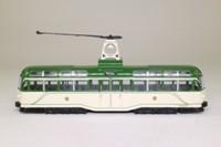 Corgi OOC 44001; Blackpool Brush Railcoach; Original Livery, North Station, Blackpool