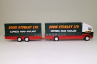 Corgi Superhaulers; Volvo FH 1:64 Scale; Rigid Truck & Trailer; Eddie Stobart: Express Road Haulage