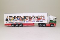 Oxford Diecast SHL15FR; Scania R Cab Artic; Fridge Trailer, Stobart Superleague