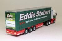 Atlas Editions 4 649 102; Scania Topline Artic; Curtainside Trailer, Eddie Stobart