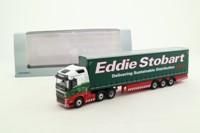 Oxford Diecast 76VOL4001; Volvo FH; Artic Curtainside; Eddie Stobart