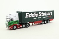 Corgi CC18106; Scania R Cab Artic, 1:76 Scale; Curtainside; Eddie Stobart