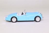 Newray NR519; Jaguar XK 120 Roadster; Open Top, Light Blue