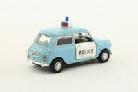 Cararama 00141; BL/Rover Mini Cooper; Police Panda Car