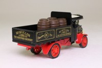 Models of Yesteryear Y-27/1; 1922 Foden Steam Wagon; McMullen & Sons Ltd, With barrels load