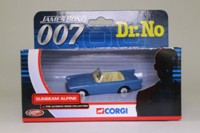 Corgi TY02501; Sunbeam Alpine; Dr No