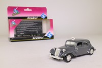 Solido 4536; Citroen 15CV Traction Avant; Grey, Taxi