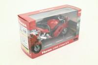 Joy City 6001; Honda CBR 1100 XX Motorcycle; Red