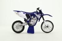Newray; Yamaha YZ 426F Motorcycle; Blue & White