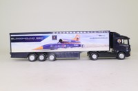 Corgi TY86663; Scania R Cab, 1:64 Scale; Artic Race Transporter, Bloodhound SSC