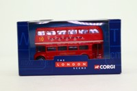 Corgi TY82301; AEC Routemaster Bus; London Transport; 10 Aldwych, Finchley Rd, Oxford St, Regent St, Piccadilly Circus, Strand