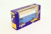 Corgi 469; AEC Routemaster Bus; Open Top, 96 Carlton Crescent, Luton; 1985 Bus Collectors Society