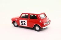 Vitesse L024; BL/Rover Mini; Cooper S; 1965 Monte Carlo Rally 1st; Makinen & Easter; RN52