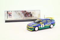Minichamps 430 968203; Ford Escort RS Cosworth; 1996 Monte Carlo Rally 1st; Bernadini & Occelli; RN3