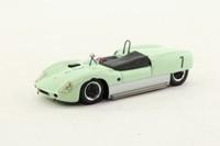 Spark S0257; Lotus 19; 1961 Laguna Seca 1st; Stirling Moss; RN7