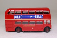 EFE 15601; AEC Routemaster Bus; London Transport; Rt 8A Bethnal Green, Shoreditch, Liverpool St, Monument, BOAC