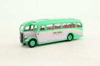 EFE 25302; AEC Regal Duple Half Cab Coach; Grey-Green of London; Dest: Bognor