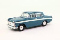 Vanguards VA04406; Austin A60 Cambridge; Persian Blue & Snowberry White Stripe