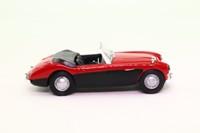 Cararama 25130; Austin Healey 100/6; Open Top; Red & Black