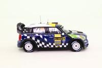 IXO RAM493; BMW Mini John Cooper Works; 2012 Rally Sweden 8th; Sandell & Parmander; RN52