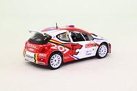 IXO; Peugeot 207 S2000; 2008 Rally Ypres 2nd; Vouilloz & Klinger; RN2