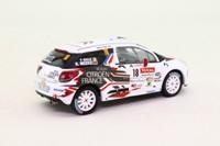IXO RAM458; Citroen DS3; 2010 Mont Blanc Rally 11th; Meeke & Nagel; RN18