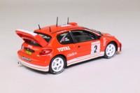 Solido 1587; 2003 Peugeot 206 WRC; 2003 Monte Carlo 5th; Reid & Burns; RN2