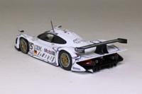 Minichamps 430 986925; Porsche 911 GT1; 1998 24h Le Mans 2nd, Alzen, Muller, Wolleck, RN25