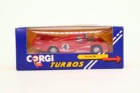 Corgi C100/1; Porsche 956; 1982 24h Le Mans DNF; Wollek, Martin, Martin; RN4
