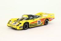 Corgi C100/1; 1982 Porsche 956; Yellow, Hepolite, Esso, RN5