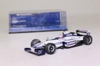 Minichamps 430 00010; Williams BMW FW22 Formula 1; 2000 German GP 4th; Jenson Button; RN10