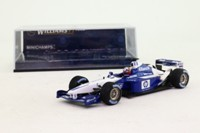 Minichamps 400 020106; Williams FW24 Formula 1; 2002 Second Part of Season; JP Montoya; RN6