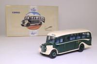 Corgi 97106; Bedford OB Duple Vista Coach; Fred Bibby of Ingleton; Veteran & Vintage Rally