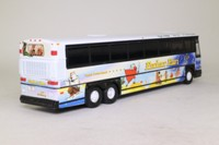 Corgi Classics 98427; MCI-102 DL3 Coach; Peter Pan Birthday Bus