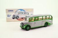 Corgi 98163; Bedford OB Duple Vista Coach; Grey Green, George Ewer; Clacton