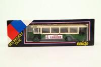 Solido 4401; 1932 Renault TN6C Bus; Parisienne, Gare du Luxembourg, Louvre, St Ouen, St Denis