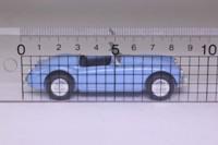 Vanguards VA05002; MGA Roadster; Open Top, Iris Blue